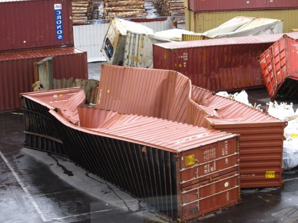 container damage